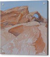 The Arch Rock Experiment - Vi Acrylic Print