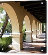 The Arches Mission Santa Ines Acrylic Print
