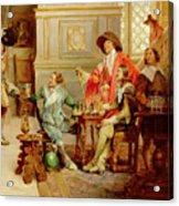 The Arrival Of D'artagnan Acrylic Print