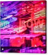 The Art Of Bowling Acrylic Print