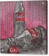 The Art Of Coca Cola Acrylic Print