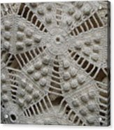 The Art Of Crochet  Acrylic Print