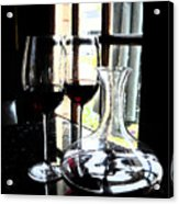 The Art Of Wine Acrylic Print by Alicia Morales