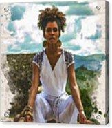 The Art Of Yoga Acrylic Print