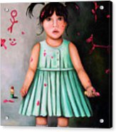 The Artist-beginning Of A Child Prodigy Acrylic Print