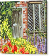 The Artist's Cottage Acrylic Print