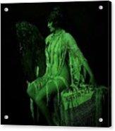 The Artist's Fairie Acrylic Print