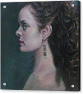 The Artist's Muse Acrylic Print