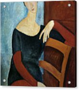 The Artist's Wife Acrylic Print by Amedeo Modigliani