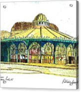 The Asbury Park Casino Acrylic Print