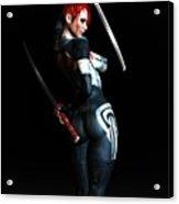 The Assassin's Code Acrylic Print