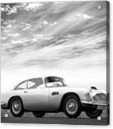 The Aston Db4 1959 Acrylic Print