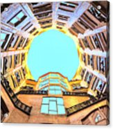The Atrium At Casa Mila Acrylic Print