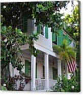 The Audubon House - Key West Florida Acrylic Print