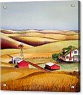 The Aune Farm Acrylic Print
