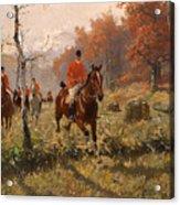 The Autumn Hunt Acrylic Print