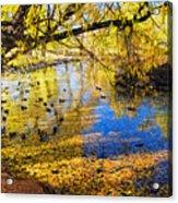 The Autumn Leaves Acrylic Print