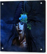 The Autumn Witch 02 Acrylic Print