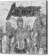 The Avengers Acrylic Print