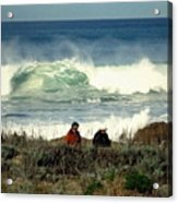 The Awesome Pacific In All Her Glory Acrylic Print