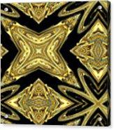 The Aztec Golden Treasures Acrylic Print