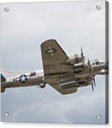 The B-17 Bomber Acrylic Print