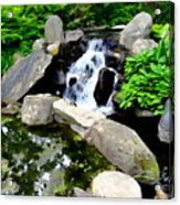The Babbling Brook Acrylic Print