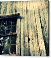 The Back Of An Old House On My Farm Acrylic Print