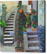 The Back Stairs Acrylic Print
