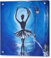 The Ballerina Dance Acrylic Print