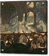 The Ballet Scene From Meyerbeer's Opera Robert Le Diable Acrylic Print by Edgar Degas