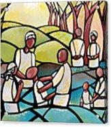 The Baptism Acrylic Print