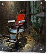 The Barber Chair Acrylic Print