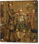 The Barber Acrylic Print