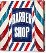 The Barber Shop Acrylic Print