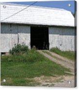 The Barn At The Farm Acrylic Print
