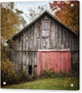 The Barn With The Red Door Acrylic Print