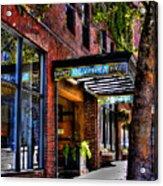 The Barney Mccoy Cafe Acrylic Print