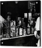 The Bartender Is Back - Prohibition Ends Dec 1933 Acrylic Print