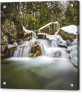 The Basin Cascades Acrylic Print