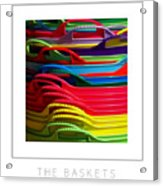 The Baskets Poster Acrylic Print