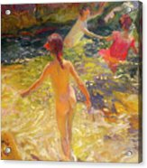 The Bath - Javea Acrylic Print