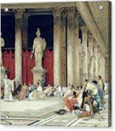 The Baths Of Caracalla Acrylic Print