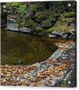 The Bathtub On Garfield Stream Acrylic Print