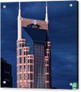 The Batman Building - Nashville Acrylic Print