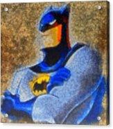 The Batman - Pa Acrylic Print