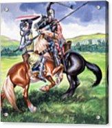 The Battle Of Bannockburn Acrylic Print