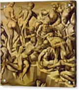 The Battle Of Cascina Acrylic Print