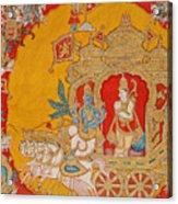 The Battle Of Kurukshetra Acrylic Print