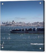 The Bay Acrylic Print